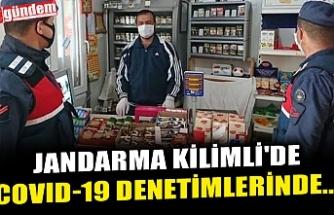 JANDARMA KİLİMLİ'DE COVID-19 DENETİMLERİNDE...