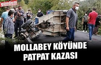 MOLLABEY KÖYÜNDE PATPAT KAZASI