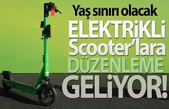 ELEKTRİKLİ SCOOTER'LARA DÜZENLEME GELİYOR