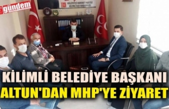 KİLİMLİ BELEDİYE BAŞKANI ALTUN'DAN MHP'YE ZİYARET