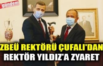 ZBEÜ REKTÖRÜ ÇUFALI'DAN REKTÖR YILDIZ'A ZYARET