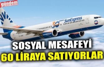 SOSYAL MESAFEYİ 60 LİRAYA SATIYORLAR