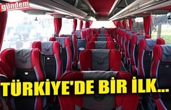 TÜRKİYE'DE BİR İLK...