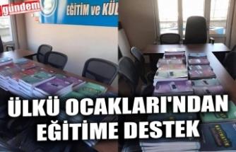 ÜLKÜ OCAKLARI'NDAN EĞİTİME DESTEK