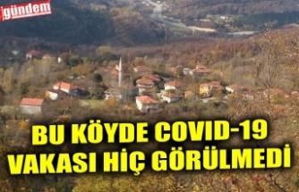 BU KÖYDE COVID-19 VAKASI HİÇ GÖRÜLMEDİ