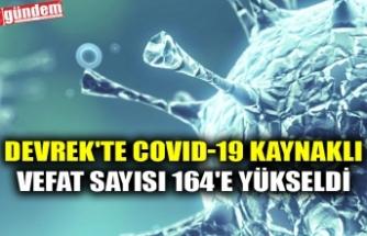 DEVREK'TE COVID-19 KAYNAKLI VEFAT SAYISI 164'E YÜKSELDİ