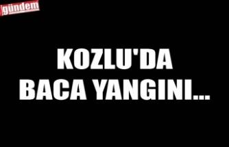 KOZLU'DA BACA YANGINI...