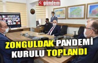 ZONGULDAK PANDEMİ KURULU TOPLANDI