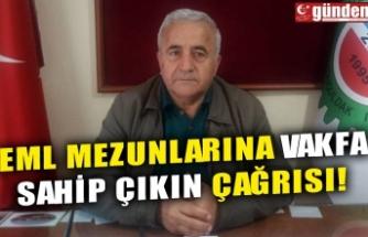 EML MEZUNLARINA VAKFA SAHİP ÇIKIN ÇAĞRISI!