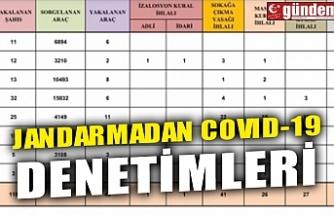 JANDARMADAN COVID-19 DENETİMLERİ