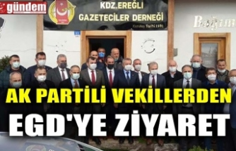 AK PARTİLİ VEKİLLERDEN EGD'YE ZİYARET