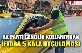 AK PARTİ GENÇLİK KOLLARI'NDAN İFTARA 5 KALA UYGULAMASI