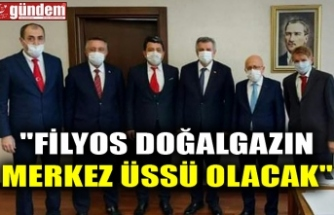 """""""FİLYOS DOĞALGAZIN MERKEZ ÜSSÜ OLACAK"""""""
