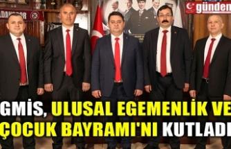 GMİS, ULUSAL EGEMENLİK VE ÇOCUK BAYRAMI'NI KUTLADI
