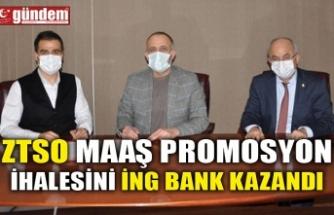 ZTSO MAAŞ PROMOSYON İHALESİNİ İNG BANK KAZANDI