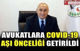 AVUKATLARA COVID-19 AŞI ÖNCELİĞİ GETİRİLDİ