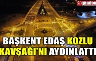 Başkent EDAŞ Kozlu Kavşağı'nı Aydınlattı
