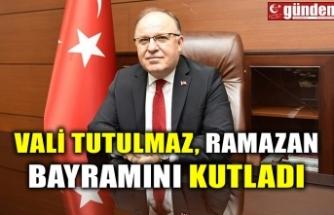 VALİ TUTULMAZ, RAMAZAN BAYRAMINI KUTLADI