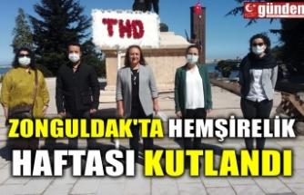 ZONGULDAK'TA HEMŞİRELİK HAFTASI KUTLANDI
