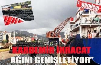 """""""KARDEMİR ÇELİĞİ, KUZEY AFRİKA YOLCUSU"""""""