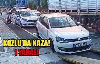 KOZLU'DA KAZA!
