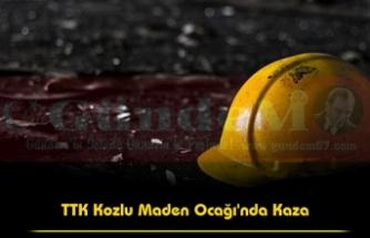 TTK Kozlu Maden Ocağı'nda Kaza