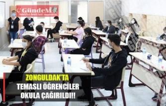 Zonguldak'ta temaslı öğrenciler okula çağırıldı!!