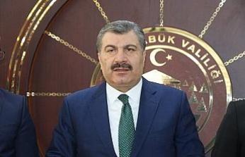 Bakan Koca, Karabük'teki yatırımları açıkladı