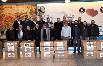 Karabük Belediyesinden amatör spor kulüplerine malzeme desteği