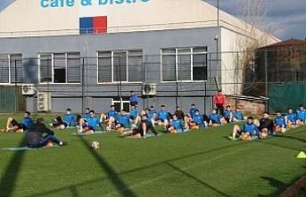 Kardemir Karabükspor'da Adanaspor maçı hazırlıkları sürüyor