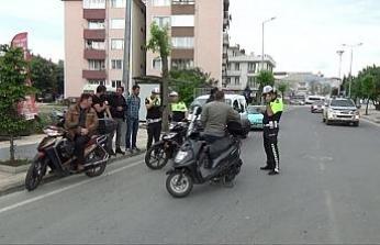 Polis kurallara uymayan sürücülere göz açtırmıyor