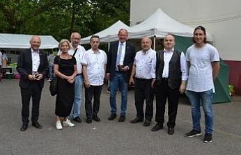Almanya'da, Göktepe Yayla Şenliği ile memleketlerini tanıttılar