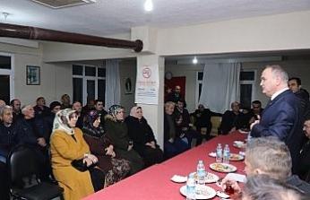 Başkan Özlü mahalle ziyaretlerinin ilk turu tamamlandı