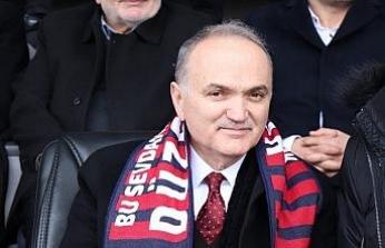 Başkan Özlü'den, Düzcespor'a destek