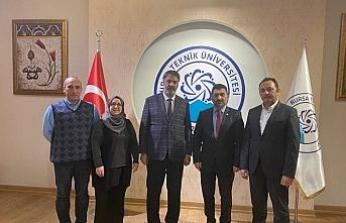 Rektör Polat'tan iki üniversiteye iş birliği ziyareti