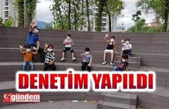 KARABÜK'TE COVİD-19 TEDBİRLERİ KAPSAMINDA DENETİMLER YAPILDI
