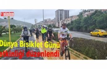 3 Haziran  Dünya Bisiklet Günü etkinliği düzenlendi...