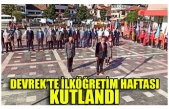 DEVREK'TE İLKÖĞRETİM HAFTASI KUTLANDI