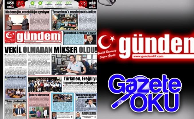 05 Haziran 2018 Gündem Gazetesi
