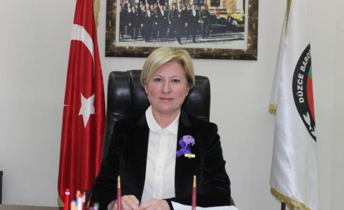 """Baro Başkanı Azade Ay, """"Her türlü türlü hak ihlalinin karşısında"""""""