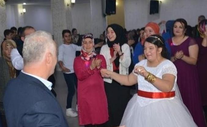 Engelli Genç Kızın Düğün Hayali Gerçek Oldu