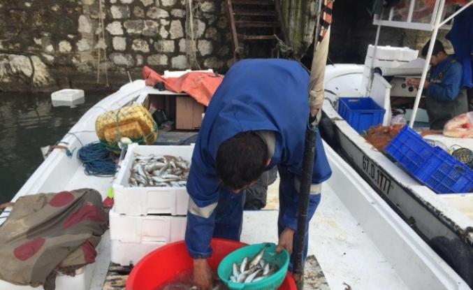Açlıklarını tuttukları balık ile giderdiler