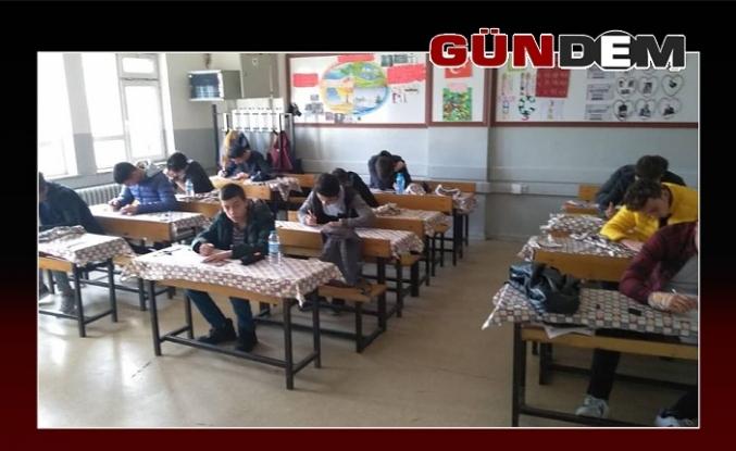 Sınava yoğun ilgi!..