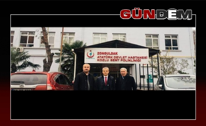 Başhekim Tosun'dan, Başkan Yılmaz'a 'hizmet' teşekkürü