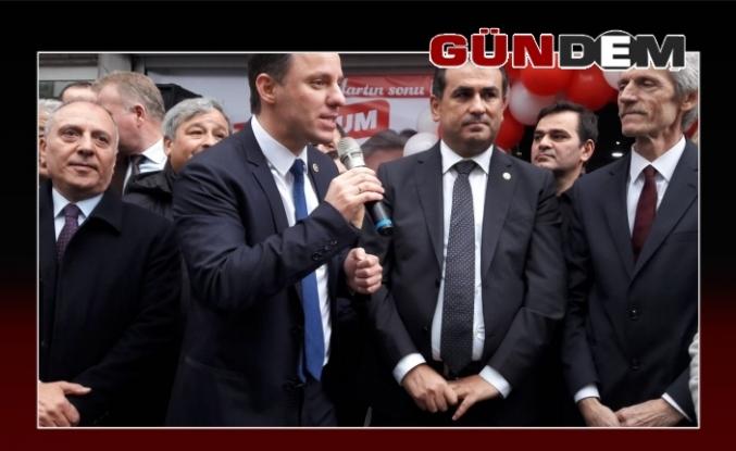 CHP Kozlu'da gövde gösterisi yaptı