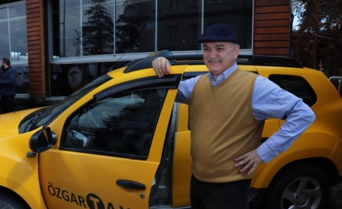 Taksi şoförü Faruk Özlü olunca