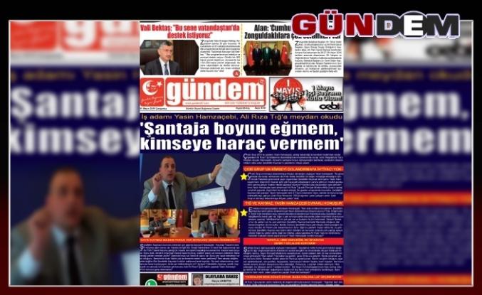 01 Mayıs 2019 Çarşamba Gündem Gazetesi