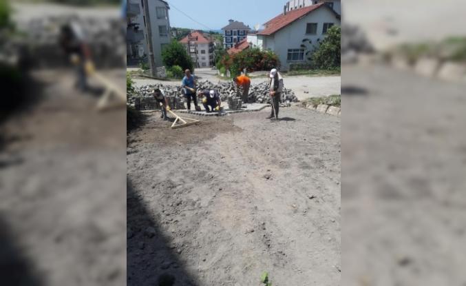 Akçakoca Belediyesi vatandaşın rahatlığı için çalışıyor