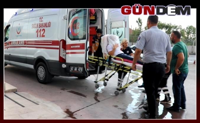Ereğli'de Tartıştığı eşini silahla vurdu!..