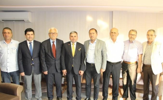 Siyasi parti il başkanları bir araya geldi fındığı konuştu